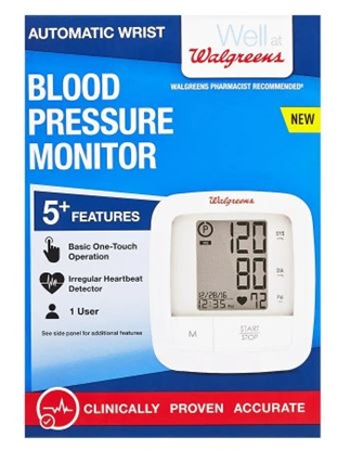 Picture of Walgreens Automatic Wrist Blood Pressure Monitor 2016