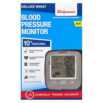 Picture of Walgreens Deluxe Wrist Blood Pressure Monitor 2016