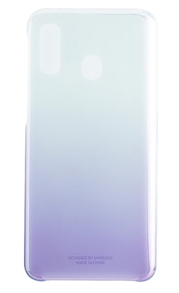 Picture of Samsung Gradation Cover For Samsung Galaxy A40 Lining Purple