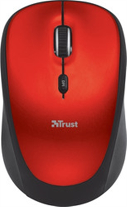 Picture of Trust Yvi Wireless Mouse Red