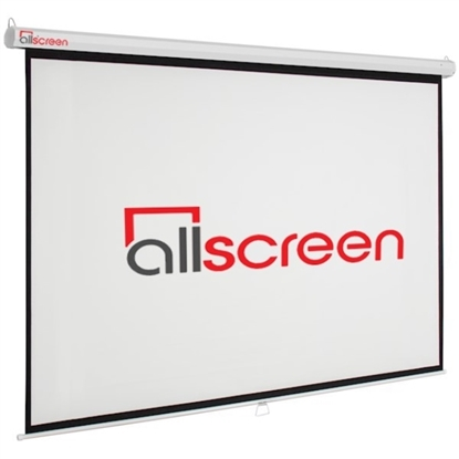 Picture of ALLSCREEN MANUAL PROJECTION SCREEN 240X180CM HD FABRIC CWP-12043