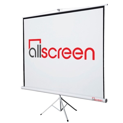Picture of ALLSCREEN TRIPOD PROJECTION SCREEN 244 X 244 CM HD FABRIC CTP-9696