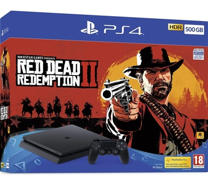 Picture of Sony PlayStation 4 Slim 500 GB Red Dead Redemption 2