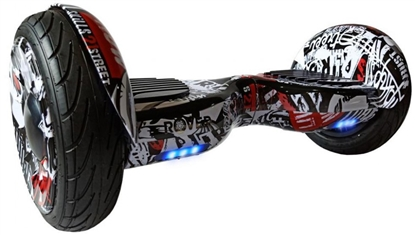 Picture of Balance Scooter Rover XL6 Graffiti White/Red