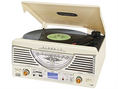 Picture of Trevi TT 1062 E Direct Drive Turntable White