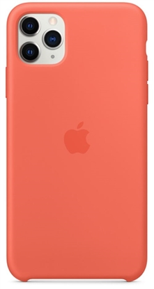 Picture of iPhone 11 Pro Silicone Case Clementine Orange