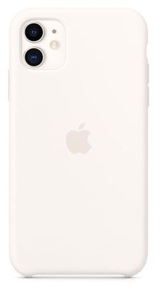 Picture of iPhone 11 Silicone Case White