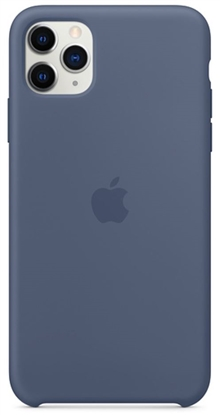 Picture of iPhone 11 Pro Max Silicone Case Alaskan Blue