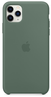 Picture of iPhone 11 Pro Max Silicone Case Pine Green