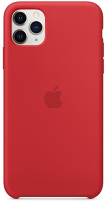 Picture of iPhone 11 Pro Max Silicone Case (PRODUCT) Red