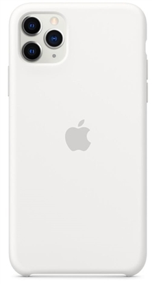 Picture of iPhone 11 Pro Max Silicone Case White