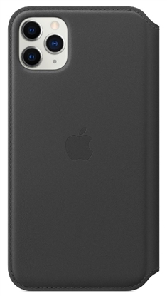 Picture of Apple iPhone 11 Pro Leather Folio Black