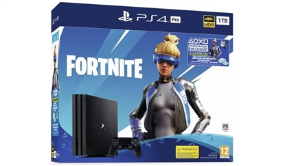 Picture of Sony PlayStation 4 Pro 1TB Fortnite Black