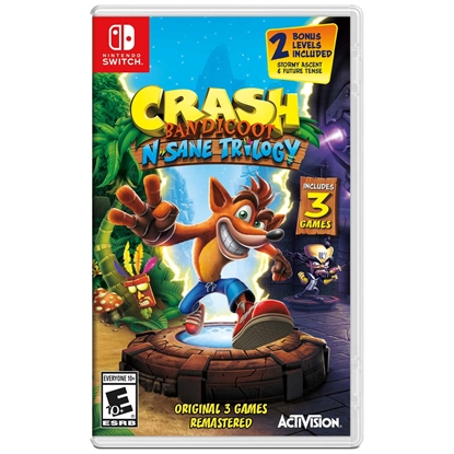 Picture of Crash Bandicoot N. Sane Trilogy For Nintendo Switch