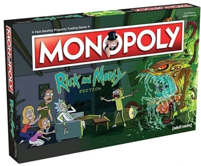 Picture of Monopoly Rick & Morty