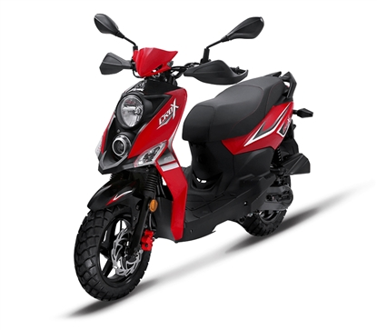 Picture of SYM Crox 150 Red