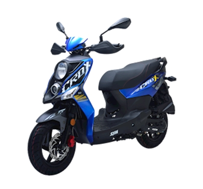 Picture of SYM Crox 50 Blue