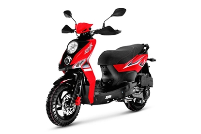 Picture of SYM Crox 50 Red