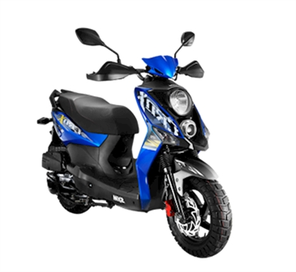Picture of SYM Crox 125i Blue